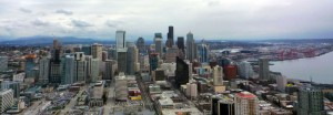 Panorama depuis le Space Needle