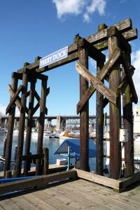 Porte entre mer et terre