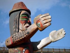 Art amèrindien dans Vanier Park