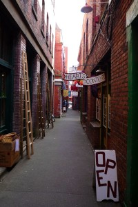 Fan Tan Alley, Chinatown, une rue historique ou l'on pariait