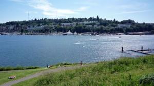 Vue sur Queen Anne, la colline la plus haute de Seattle